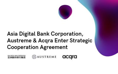 Acqra and Asia Digital Bank Corporation Enter Strategic Cooperation Agreement